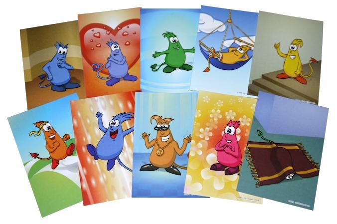 Gefühlsmonsterkarten: Ganz fabelhafte Karten für die Arbeit mit ...